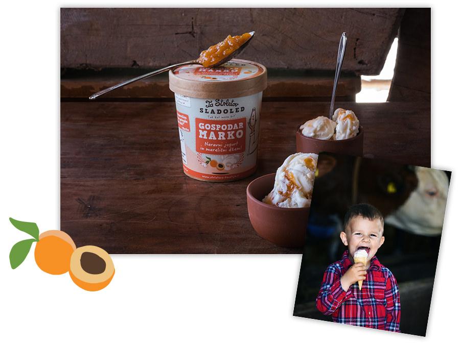 ta strletov sladoled